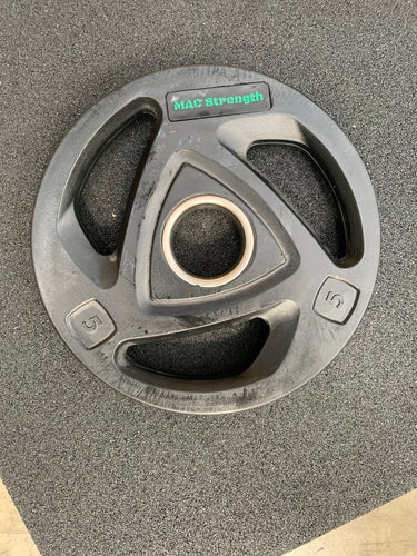 100kg tri grip olympic plate set