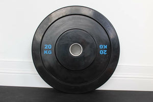 Rubber Olympic bumper plates/ weight plates