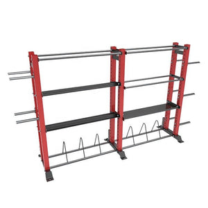 Multi use storage rack (all black colour)