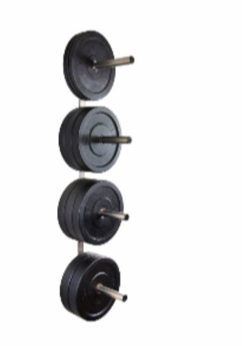 Wall mounted bumper plate holder (free delivery)