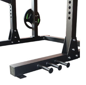 Half rack deluxe package (squat rack)