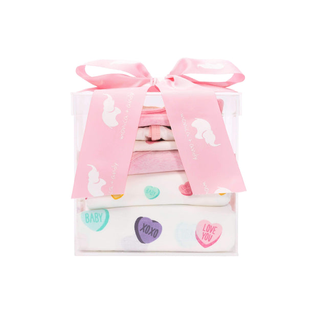 Monica + Andy:Modern Layette,The Pink Mini Modern Layette Cuddle Box
