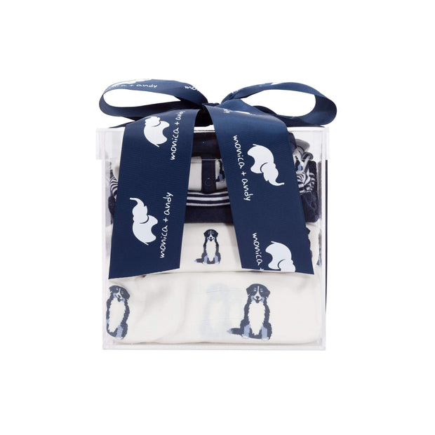 Monica + Andy:Modern Layette,The Blue Mini Modern Layette Cuddle Box