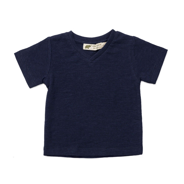 Monica + Andy:Top,NEW - Classic V-Neck Tee