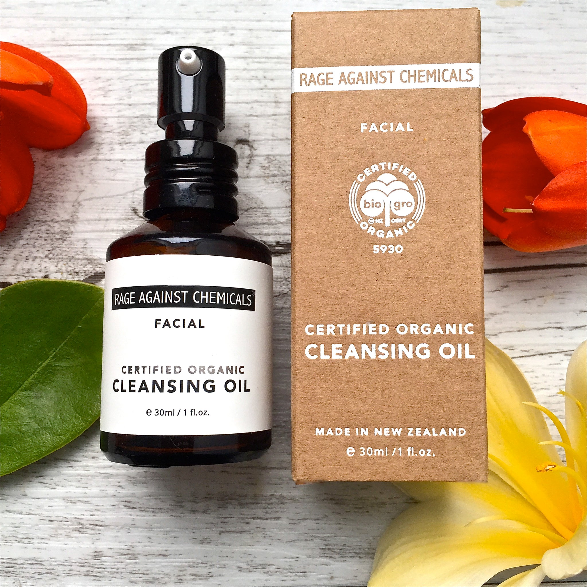 Cleansing Oil - Organic - Rage Against Chemicals