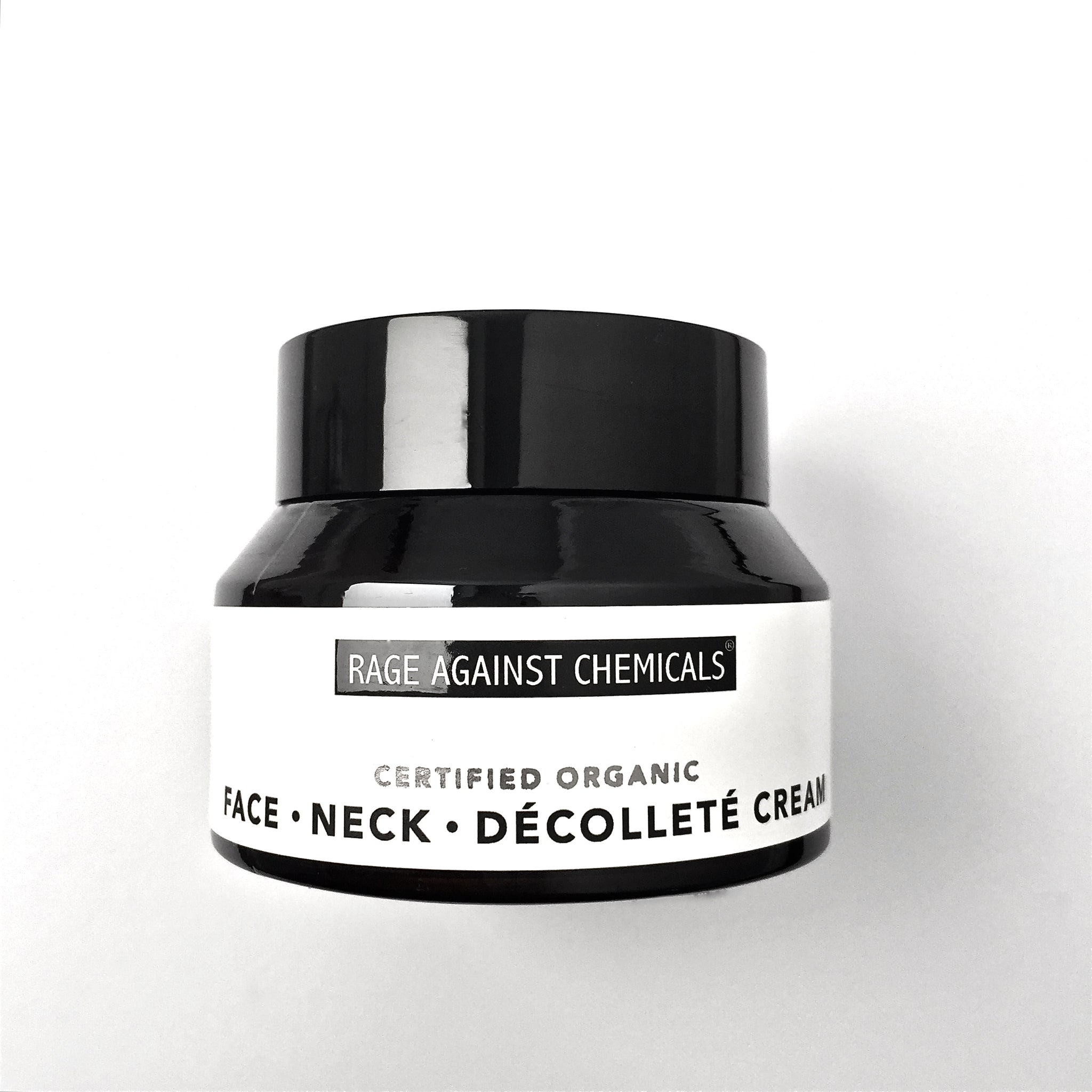 Face, Neck, Decollete Cream - Organic Moisturiser - Certified Organic Skincare -  Rage Against Chemicals