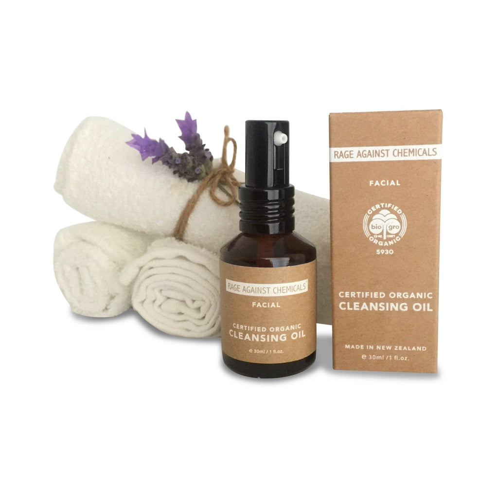 Facial Cleansing Oil & Cloths