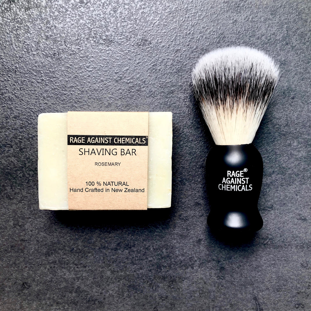 Shaving Brush & Shaving Bar Kit