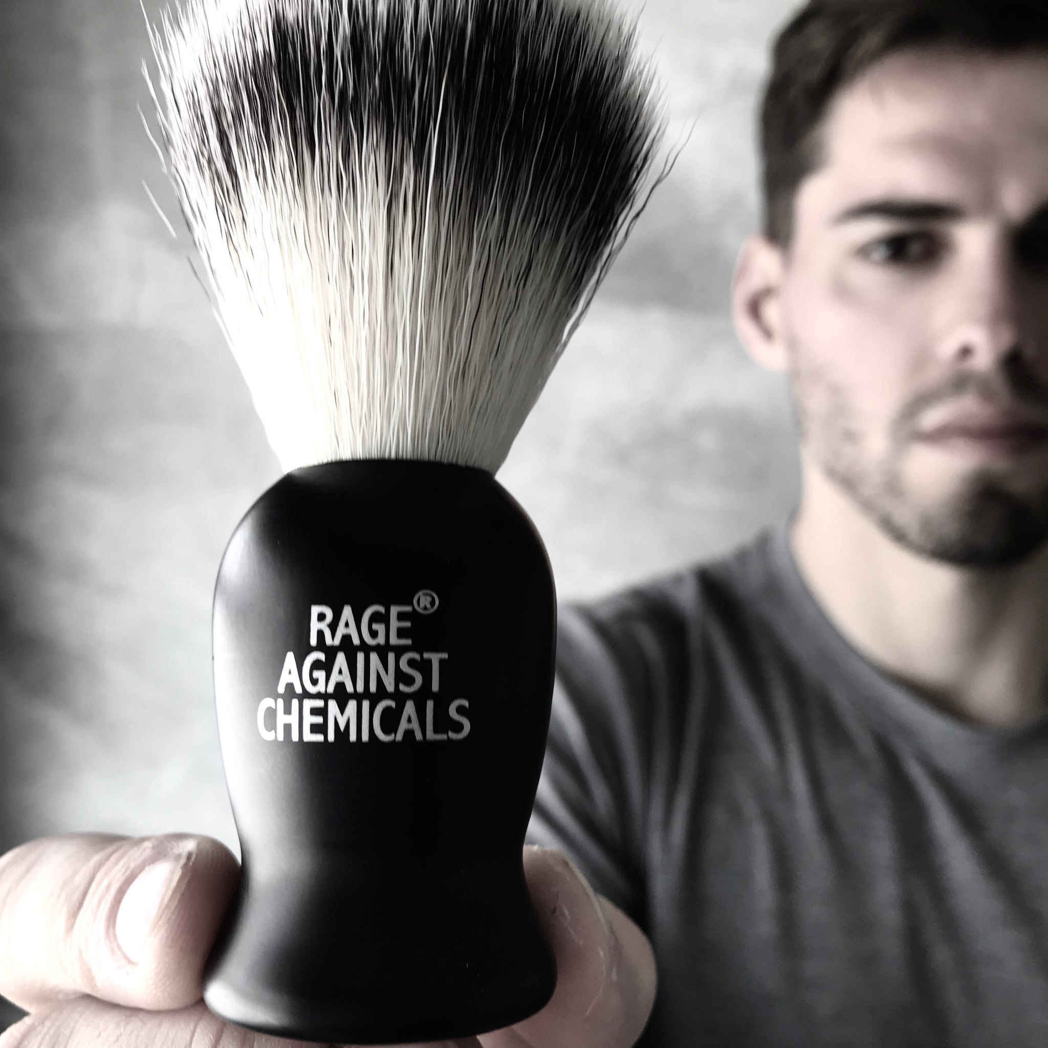 Shaving Brush - Rage Against Chemicals - Certified Organic Skincare