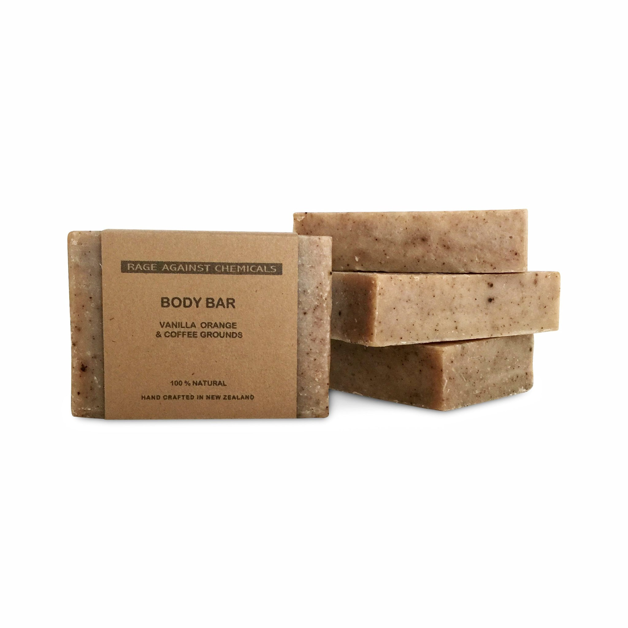 Soap - Body Exfoliating Coffee & Orange - 100g