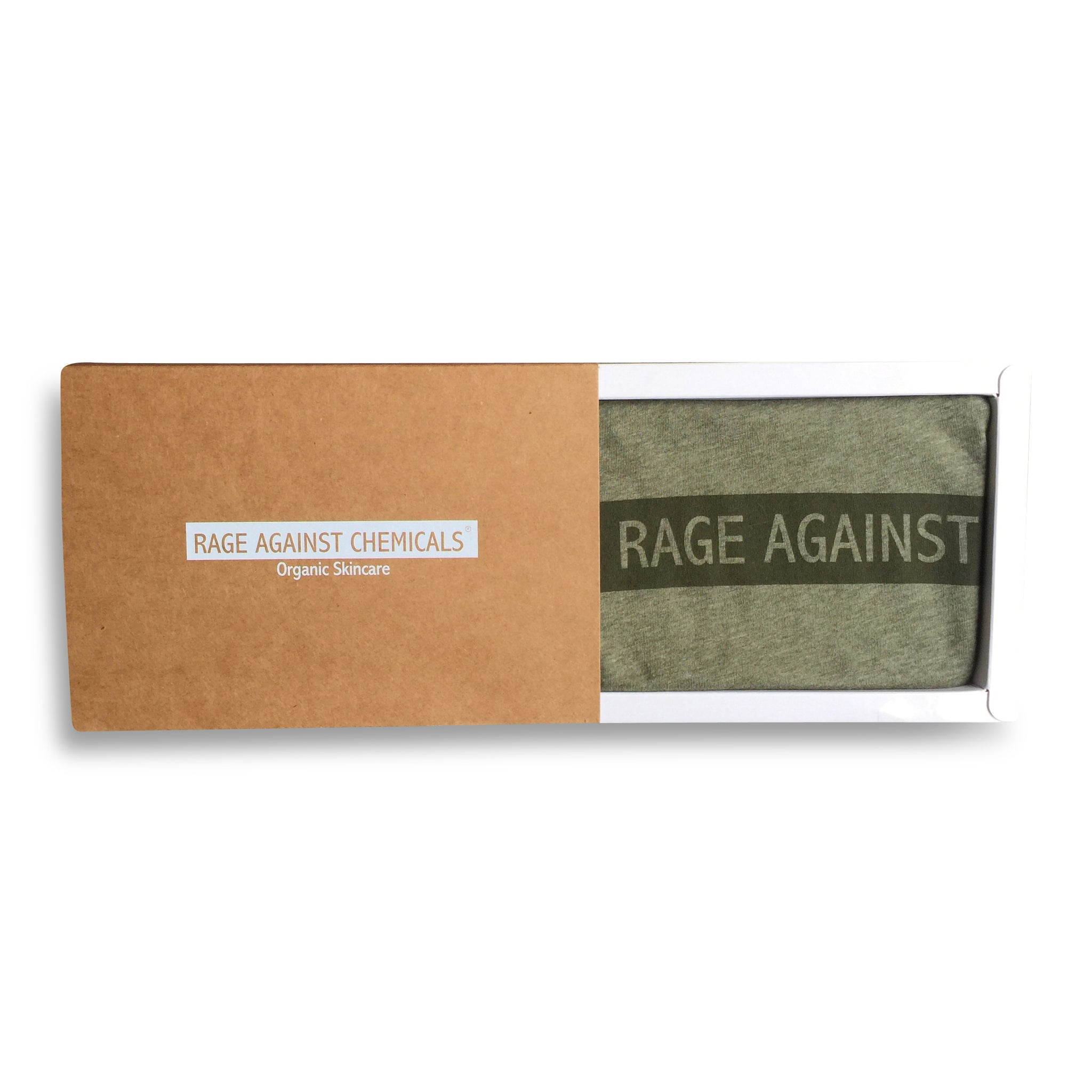 Organic Cotton Tee Shirts - Rage Against Chemicals