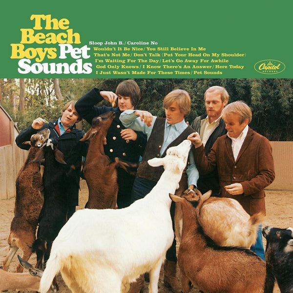Pet Sounds des Beach Boys, un album culte.