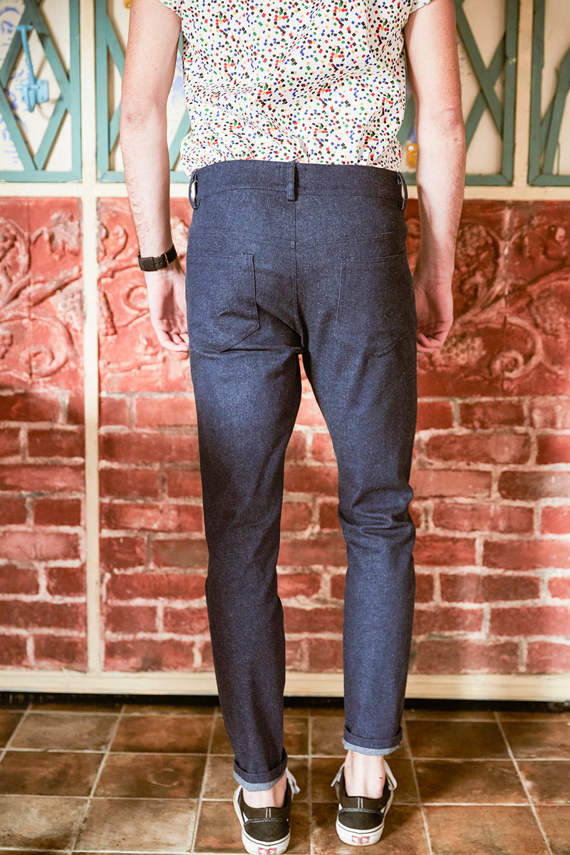 Pantalon Clyde - Denim Brut