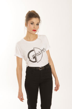 T-shirt Logo Good Old Days - Femme