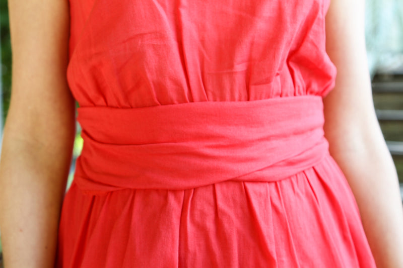 Robe rouge Claudie Pierlot - T.36