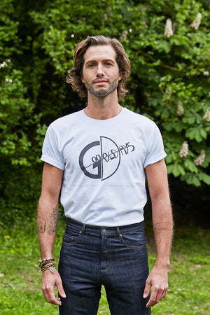 T-shirt Logo Good Old Days - Homme