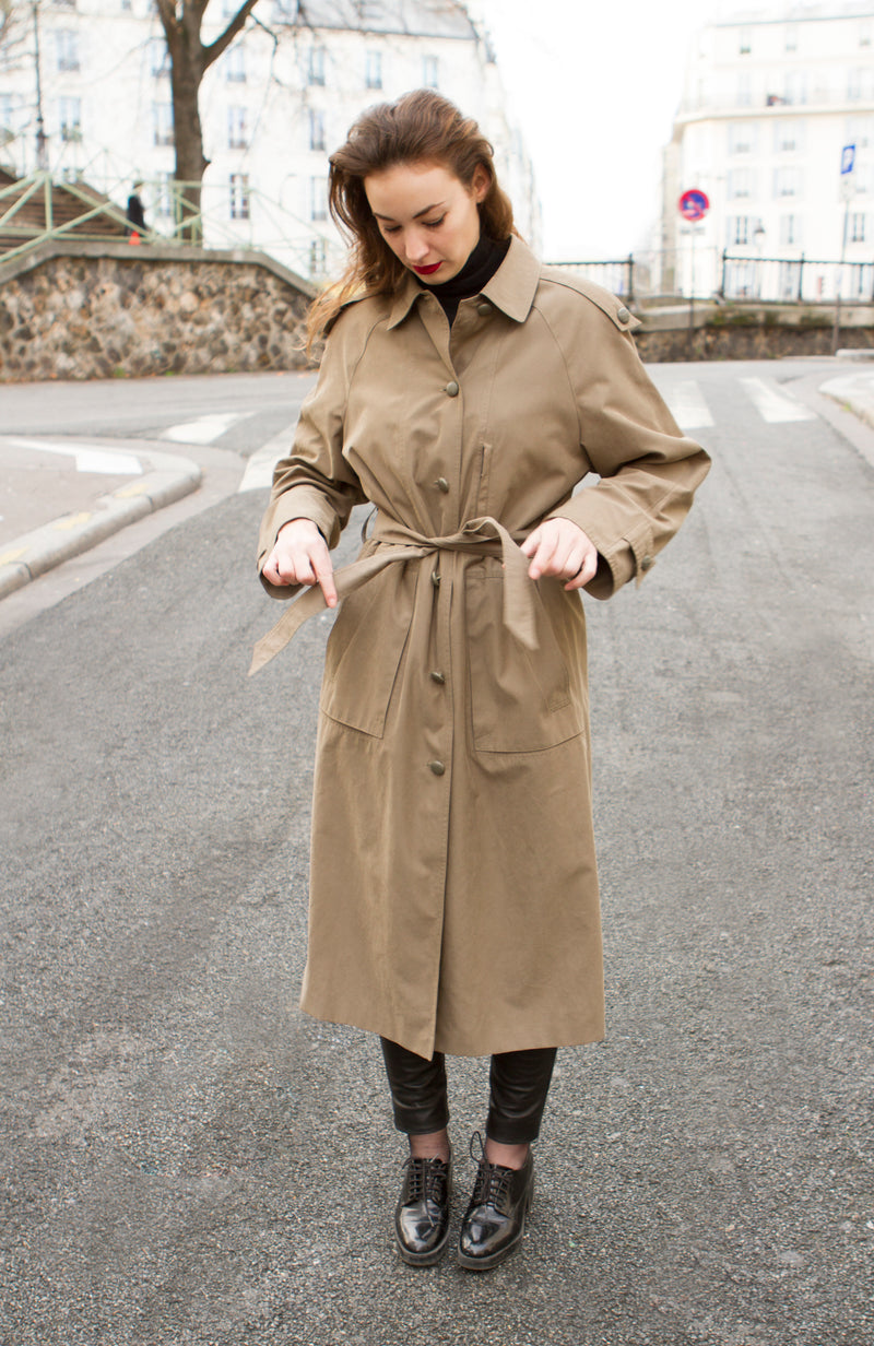 Trench kaki - T.M/XL.