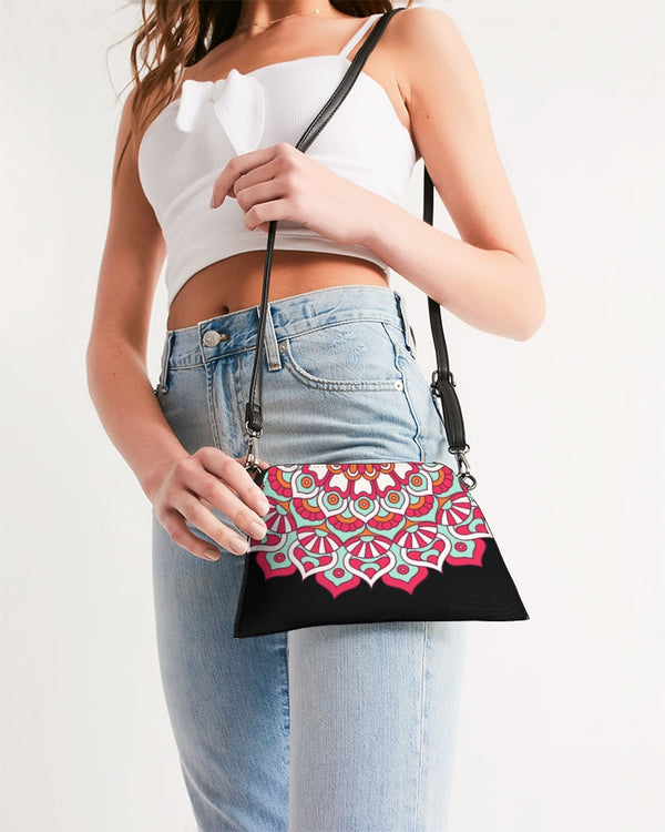 Scalloped Mandala P7 - Wristlet