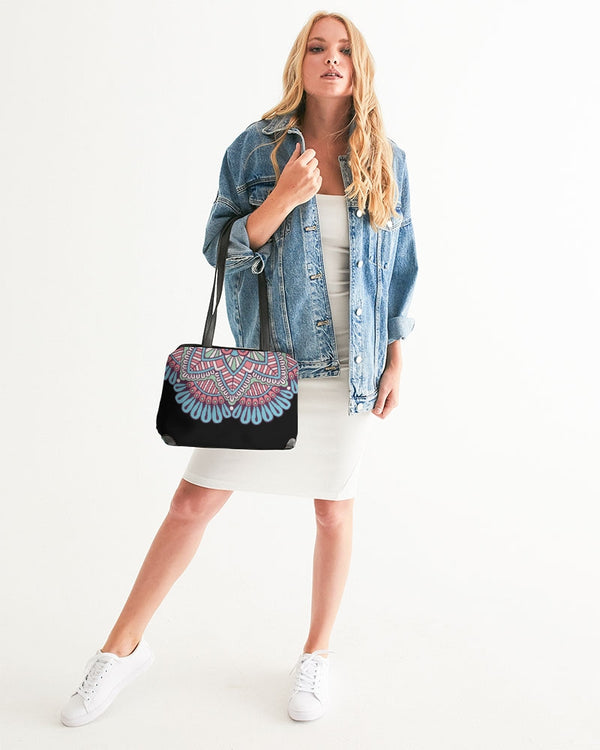 Scalloped Mandala P6 - Shoulder Bag
