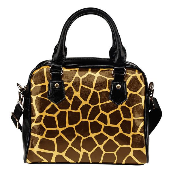 Giraffe Print Pop Art - Boston Handbag