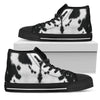 Cow - High Top Canvas Shoes
