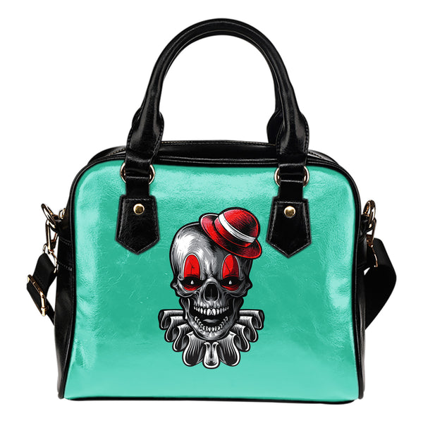 Clown Skull (Tiffany Girl) - Boston Handbag