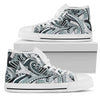 Funky Patterns (Black) - Women's High Top Shoes (White)