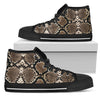 Snake - High Top Canvas Shoes