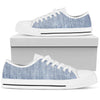 Shades of Light Denim - Low Top Canvas Shoes