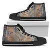 Grunge P1 - Men's High Top Shoes (Black)
