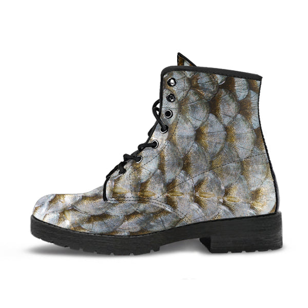 Fish - Vegan Leather Boots