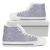 Autumn Fall Moonlight - Women's High Top Shoes (White)