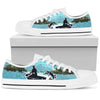 Gone Fishing (White) - Men's Low Top Shoes