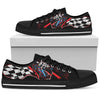 Car Racing (Black) - Men's Low Top Shoes