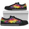 Rainbow Roses - Low Top Canvas Shoes