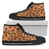 Giraffe - High Top Canvas Shoes