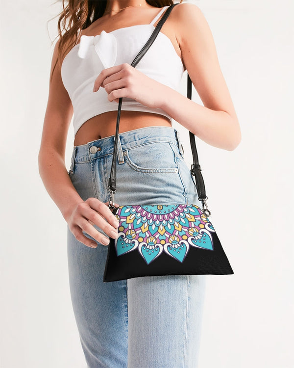 Scalloped Mandala P4 - Wristlet