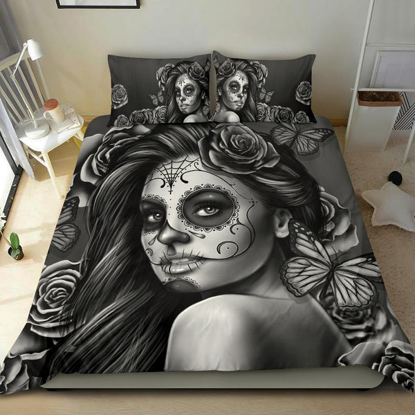 Calavera Silver - Bedding Set