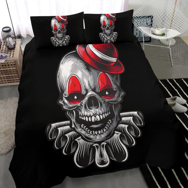 Clown Skull - Bedding Set
