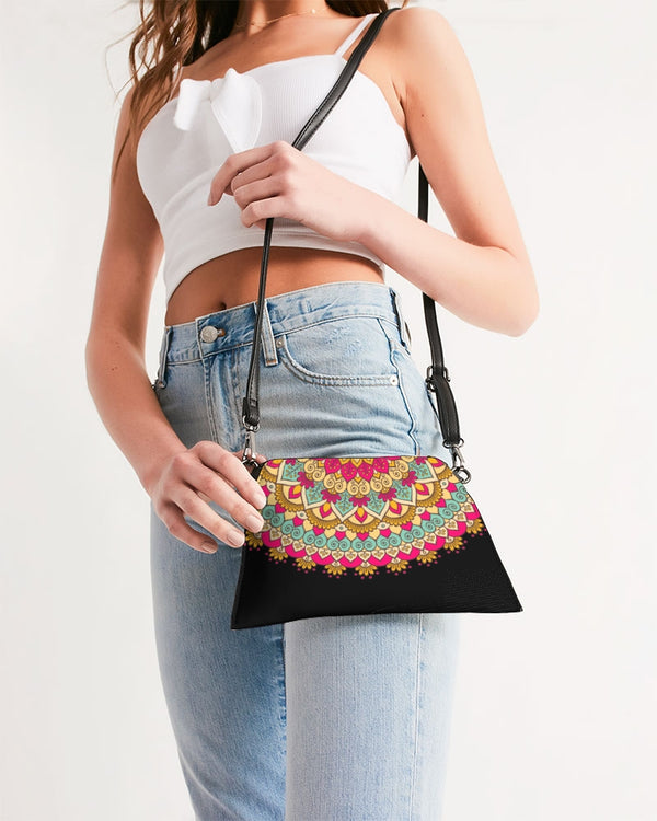 Scalloped Mandala P9 - Wristlet