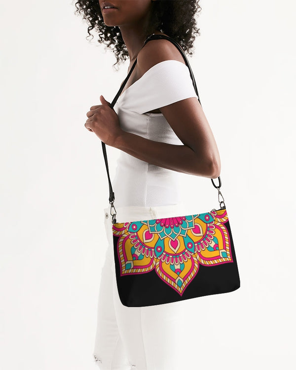 Scalloped Mandala P10 - Daily Zip Pouch