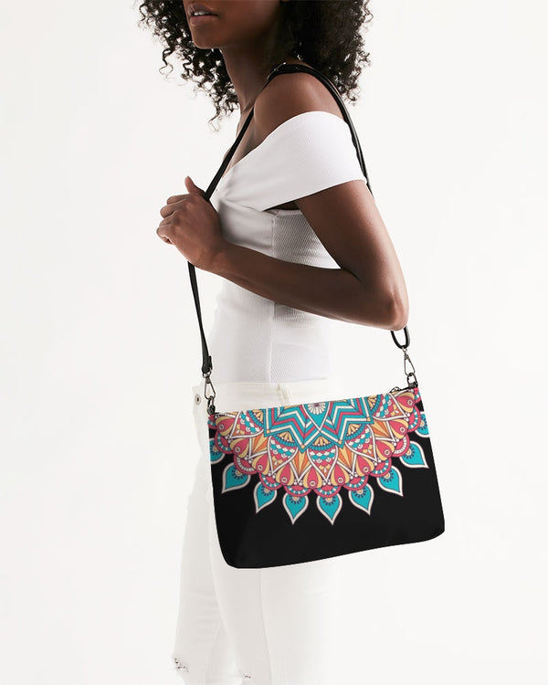 Scalloped Mandala P11 - Daily Zip Pouch