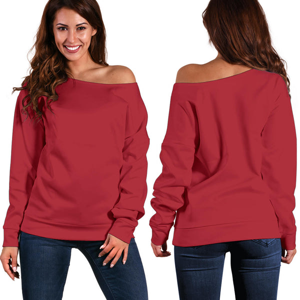 Roar Powerlips - Women's Off Shoulder Sweater