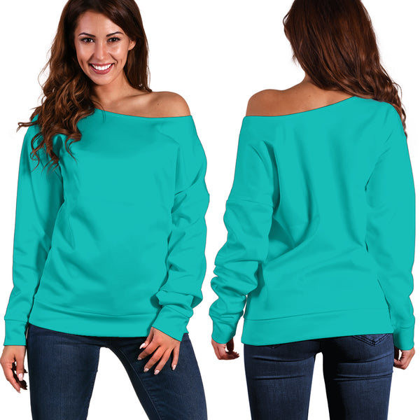 Tiffany Girl - Women's Off Shoulder Sweater