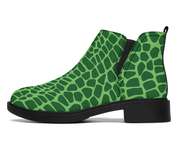 Croc Pop Art - Suede Boots