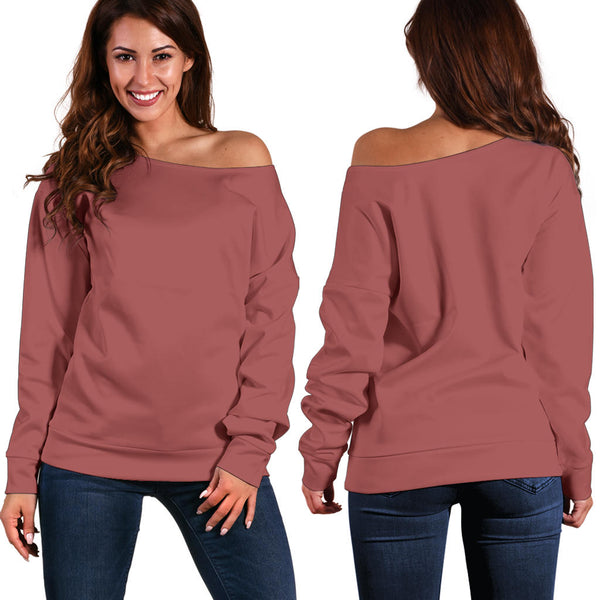 Breadwinner Powerlips - Women's Off Shoulder Sweater