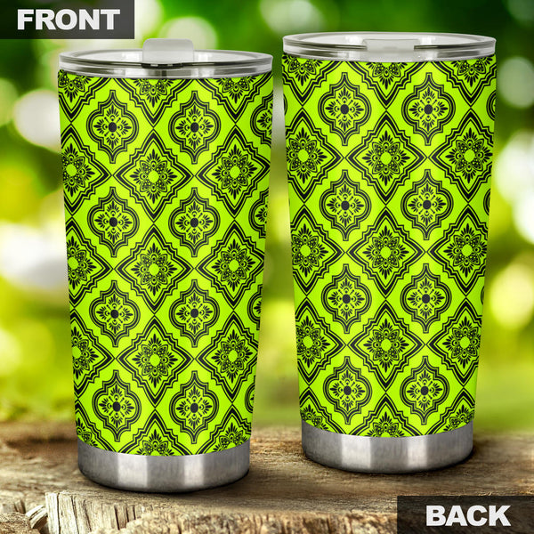 Persian Title (Chartreuse) - Travel Tumbler