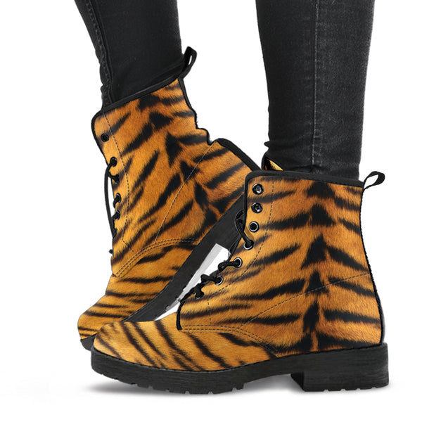 Tiger - Vegan Leather Boots