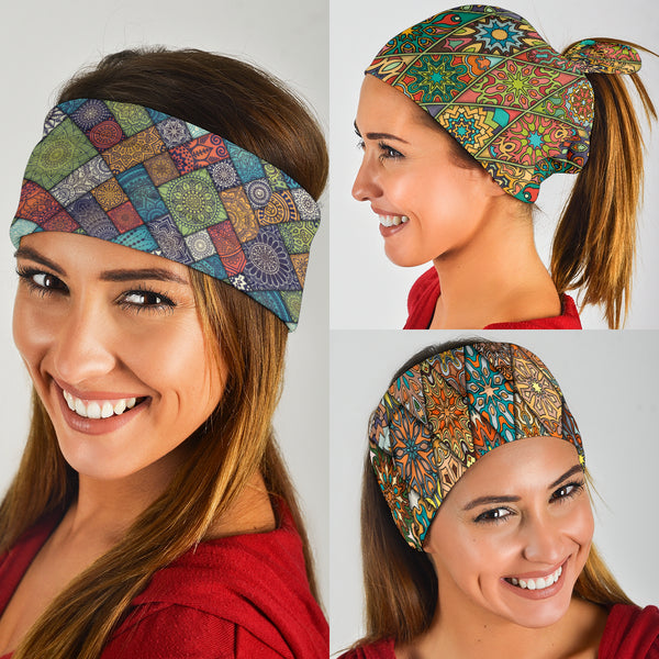 Diamond Mandalas Mix 1 - Bandana 3 Pack
