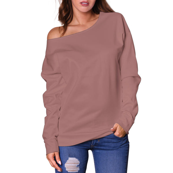 Confidence Powerlips - Women's Off Shoulder Sweater